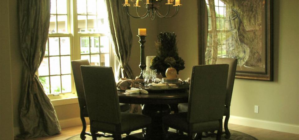 House One Dining Room | Bowes Interiors
